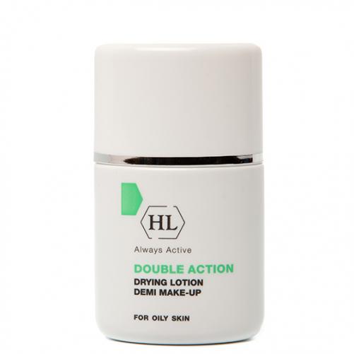 Holy Land DOUBLE ACTION Drying Lotion Demi Make-Up | Подсуш. лосьон с тоном, 30 мл