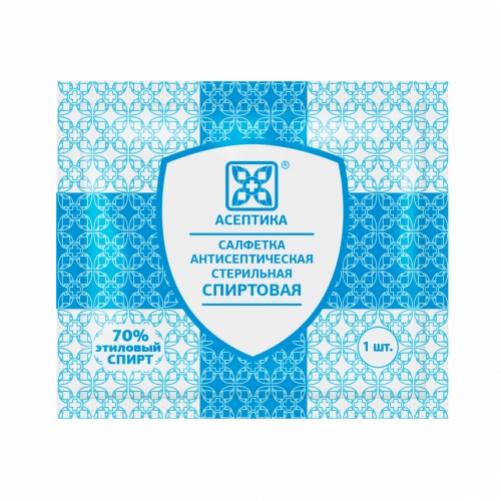 Антисептик Асептика салфетки для инъекций 6х10 см